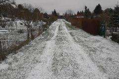 Bielany Wzgórze zimą